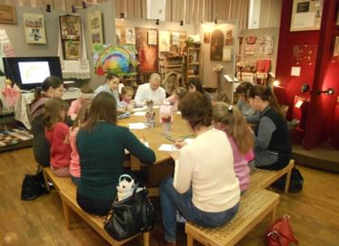 Встреча в музейной семейной этностудии «Ступени роста» из цикла «Культура личности»