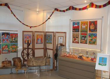 Выставка «Сказ про кота Василия в картинах живописно-стихотворных»