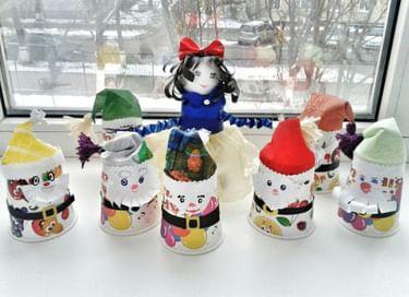 Конкурс новогодней поделки и елочной игрушки «Подарок для Щелкунчика»