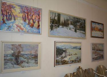 Открытие выставки «Зимние истории»