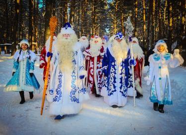 Конкурс «Лучший Дед Мороз Кузбасса»