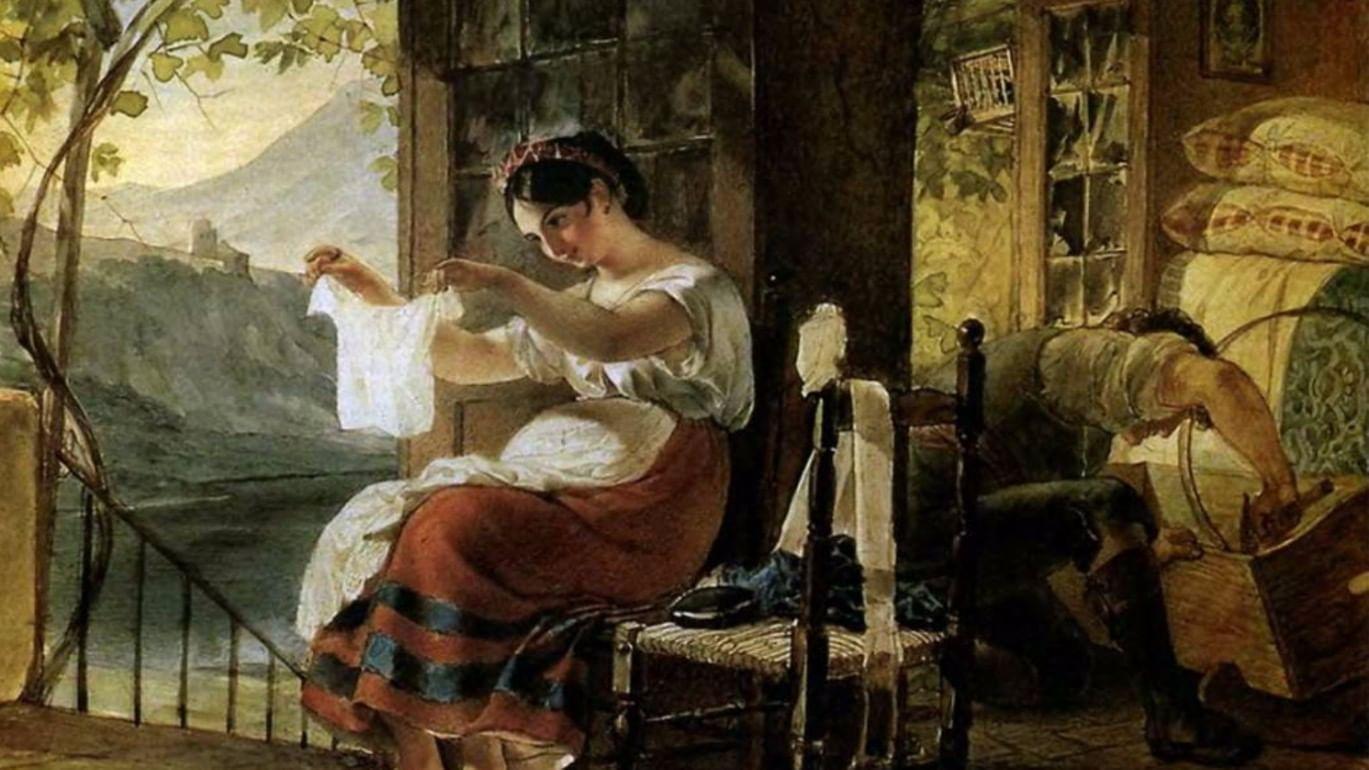 Матери на картинах русских художников