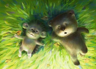 Спектакль «Про Ежика и Медвежонка»