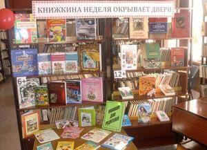 Детская библиотека им. П. А. Мазикина