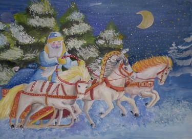 Конкурс «Деды Морозы разных стран»