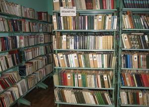 Новосильская сельская библиотека-филиал