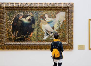 Выставка-фокус «Песня вещих птиц»