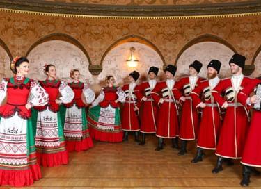 Концертная программа Московского казачьего хора