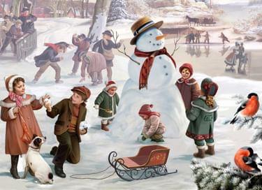 Детский квест «Зимние забавы»