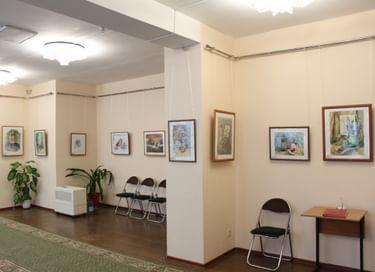 Выставка «Ступени в мир искусства»