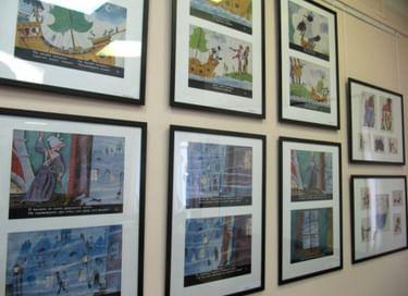 Выставка иллюстраций «Нарисованные книжки»