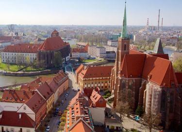 Книжно-иллюстративная выставка «Архитектура Польши»