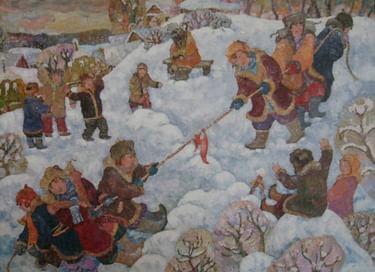 Интерактивная программа «Новый год по-даниловски»