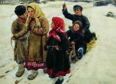 Интерактивная программа «Старинные русские забавы»