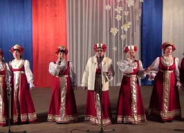 Концертная программа «Широка и раздольна ты, родная страна»