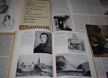 Книжно-иллюстративная выставка «Генрих Гейне – между романтизмом и реализмом»