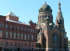 Храм Воскресения Христова Всероссийского Александро-Невского братства трезвости в Санкт-Петербурге