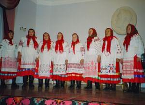 Календарные обряды, песни и хороводы черниговских переселенцев из села Прямское Маслянинского района Новосибирской области