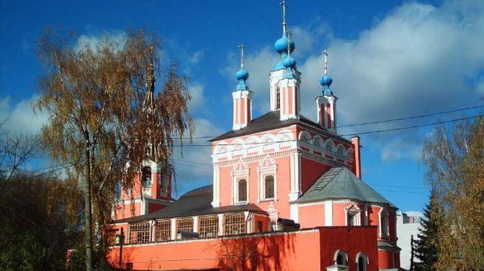 Собор Георгия Победоносца за верхом в Калуге