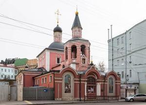 Храм святого великомученика Георгия Победоносца в Старых Лучниках