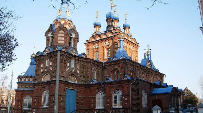 Храм Георгия Победоносца в Краснодаре (Георгия Великомученика храм)