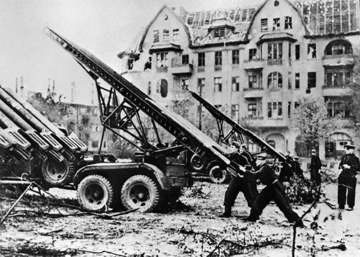 Хроника Берлинской стратегической наступательной операции