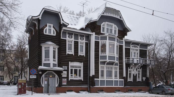 Дом архитектора А.Д. Крячкова - музей деревянного зодчества