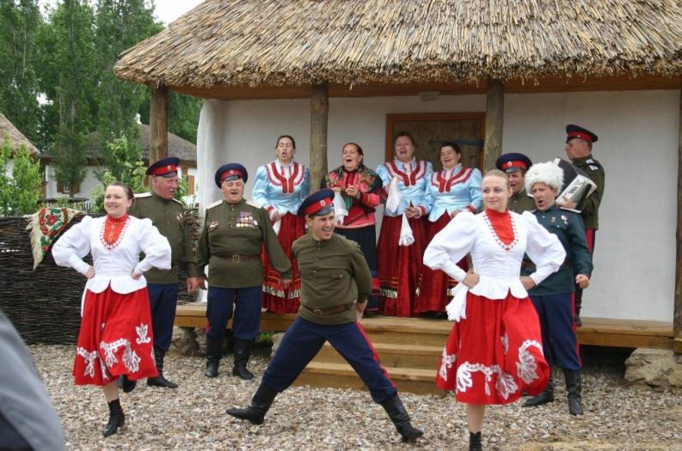 «Шолоховская весна» в станице Вёшенская