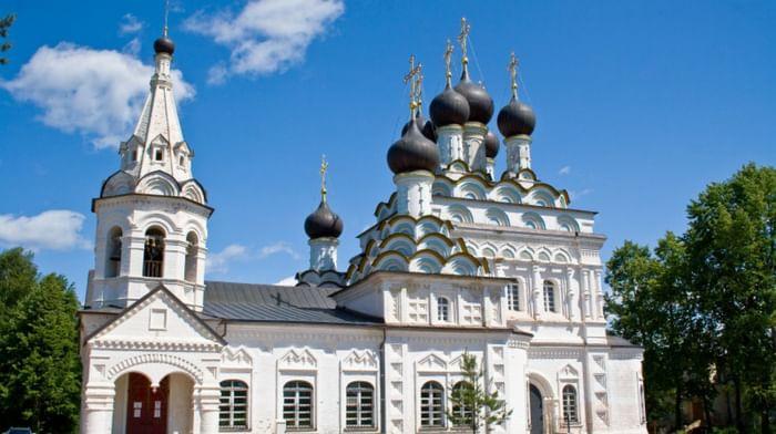 Троицкий Александро-Невский женский монастырь в деревне Акатово Клинского района Московской области
