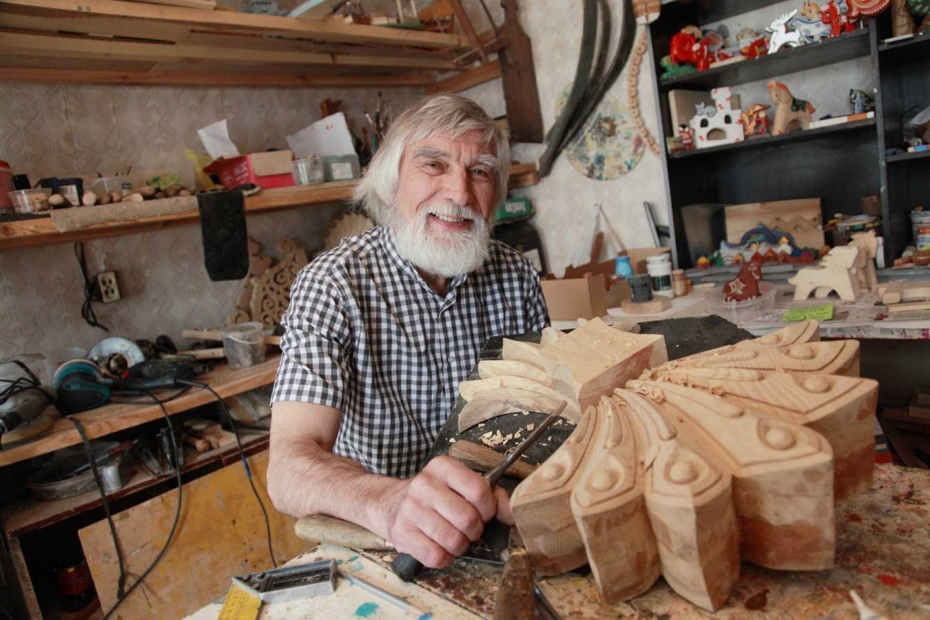Тюмень деревянная