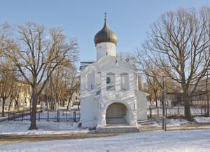 Храм Георгия Победоносца со Взвоза в Пскове