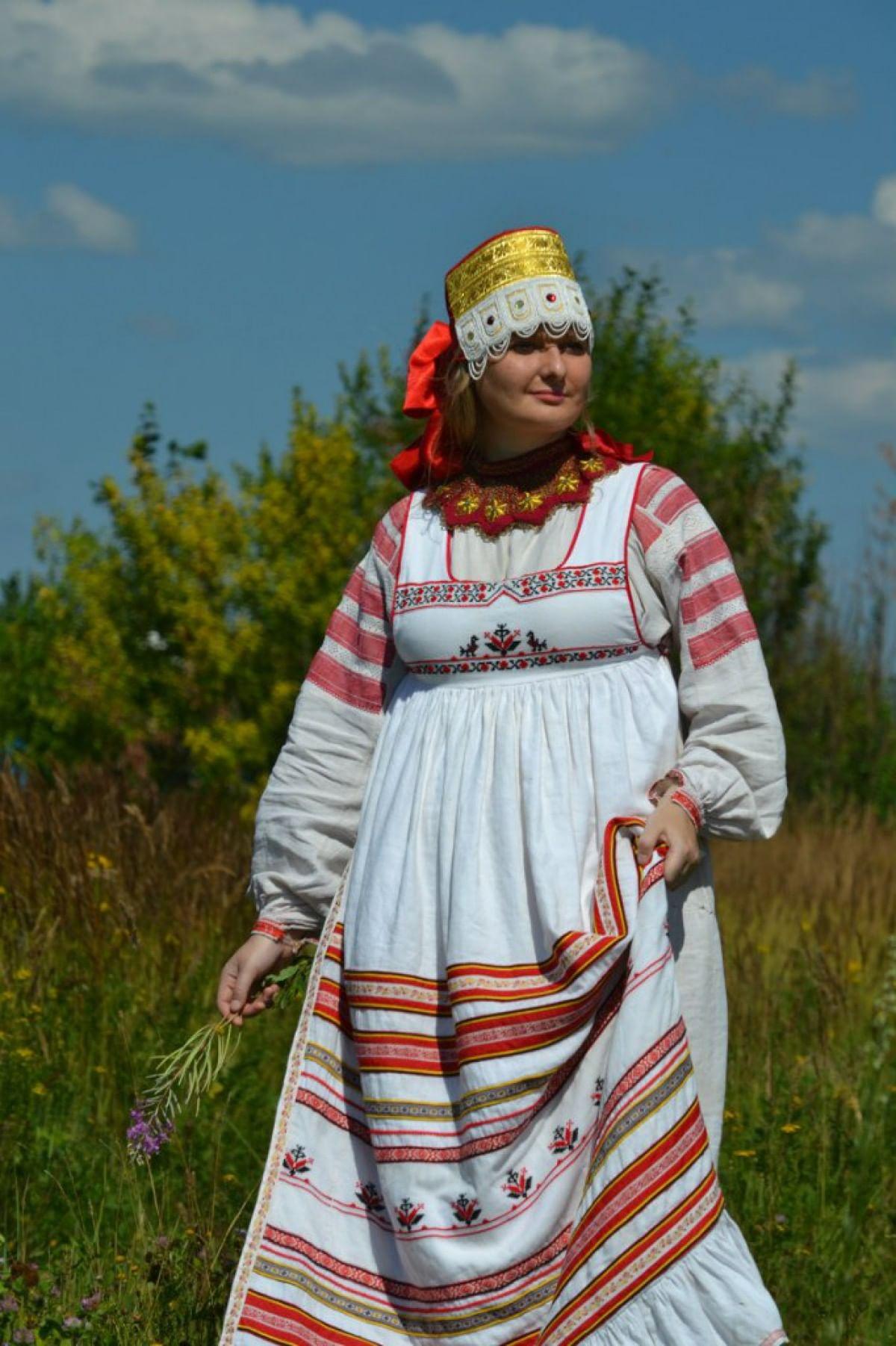 Женский костюм. Передник