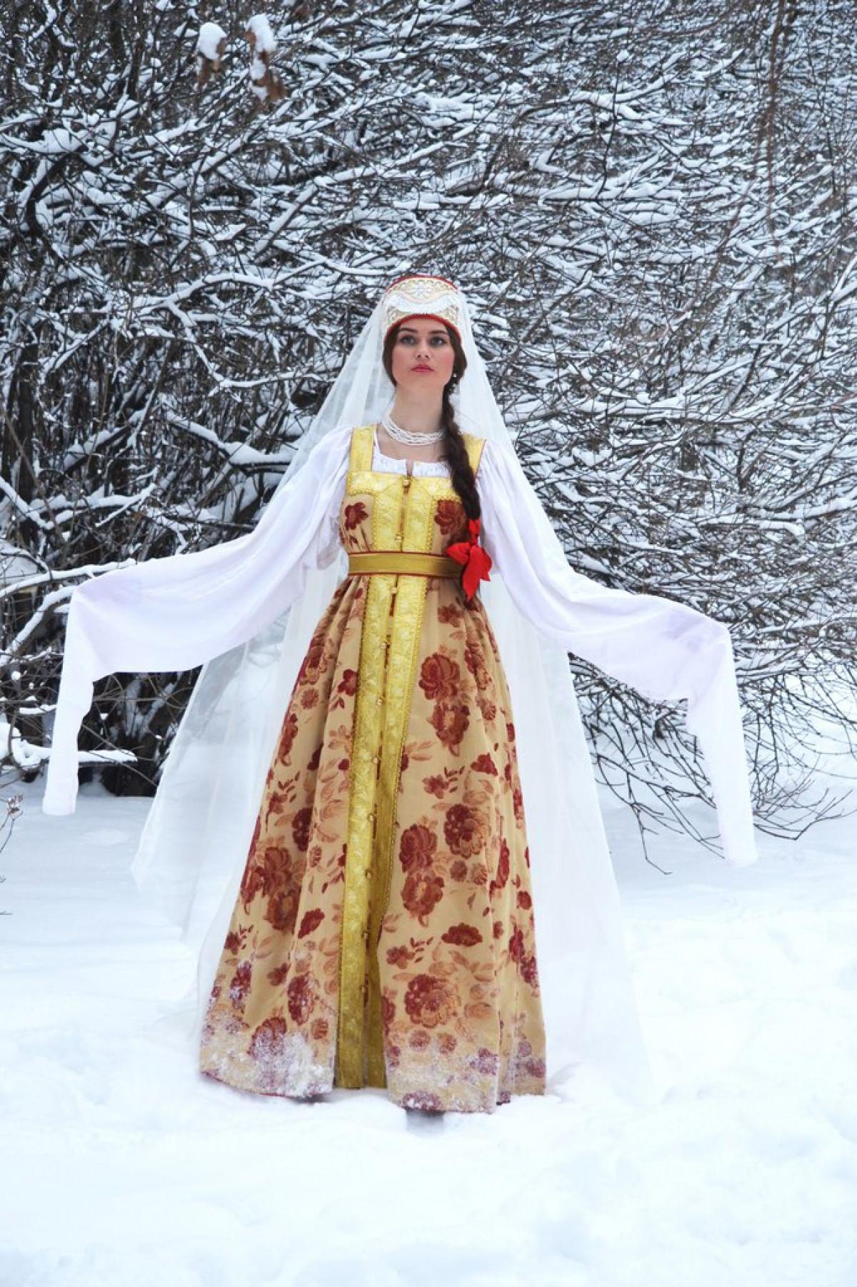 Женский костюм. Сарафаны