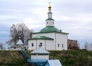 Храм Стефана Великопермского в Михайло-Архангельском Усть-Вымском монастыре