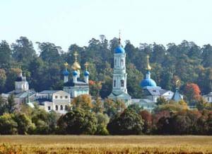 Введенский ставропигиальный мужской монастырь Оптина пустынь в Козельске Калужской обл.