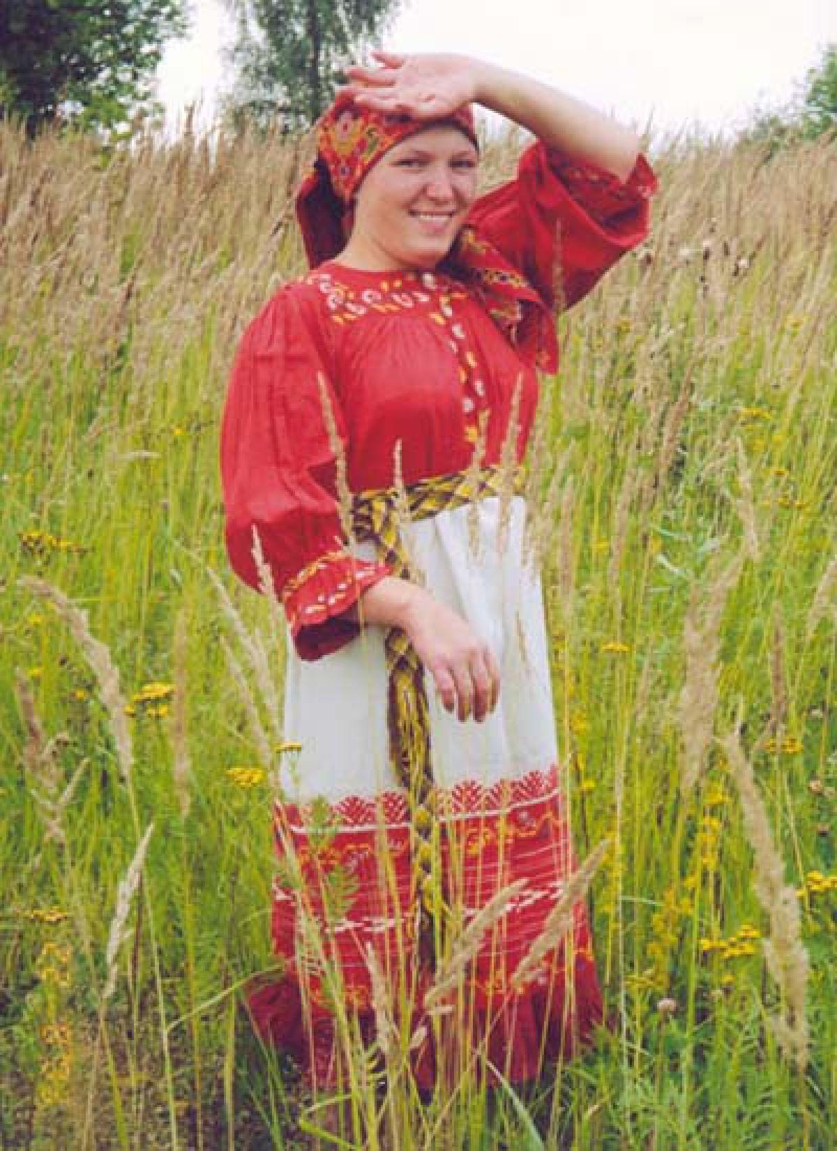 Женский костюм. Рубаха
