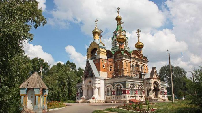 Храм Сергия Радонежского в городе Чапаевск Самарской обл.