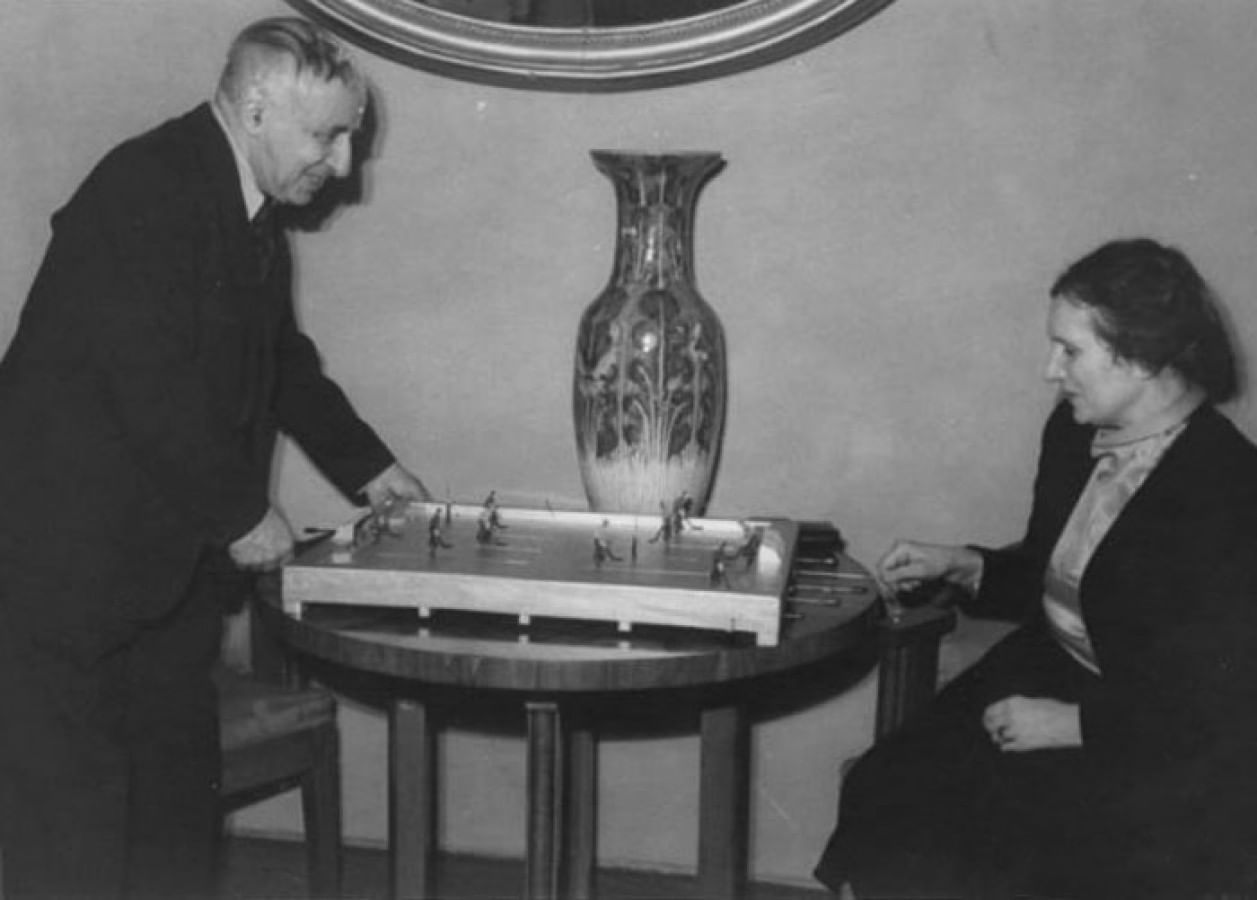 Александр Таиров и его супруга Алиса Коонен