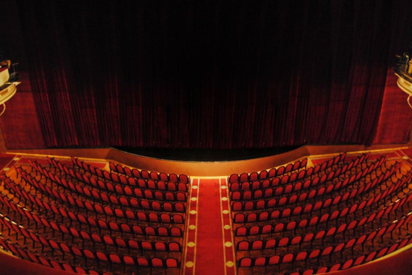 Схема зала театр эстрады фото