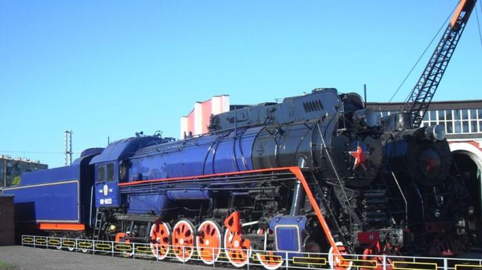 Музей в депо станции Подмосковная