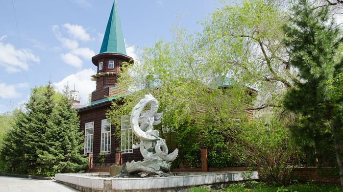 Историческая мечеть в Новосибирске