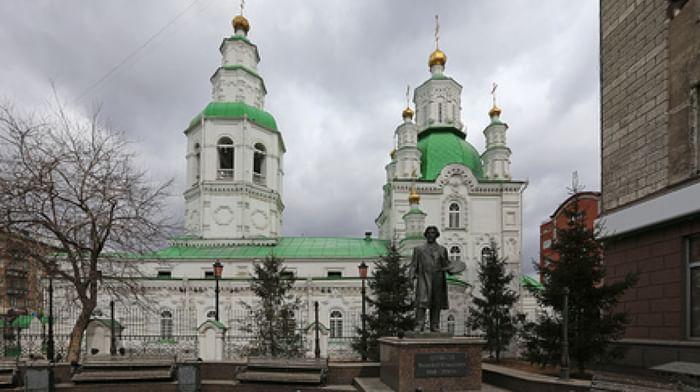 Собор Покрова Пресвятой Богородицы в Красноярске (Покровский собор - Богородицкий собор)