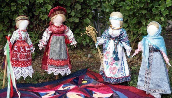 Куклы-обереги наРуси
