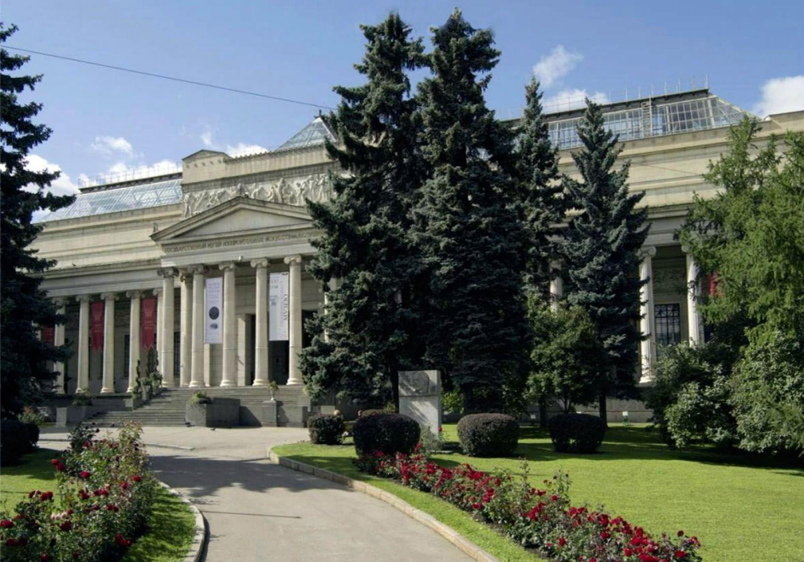 виртуальный музей изобразительных искусств: