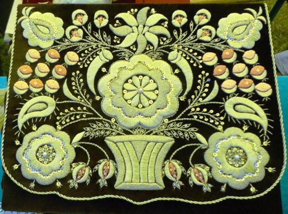 Орнаменты крымскотатарской вышивки