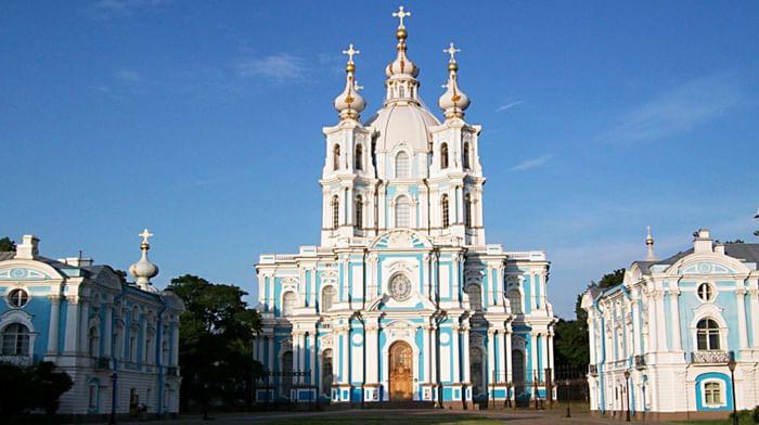 Воскресенский девичий Смольный монастырь