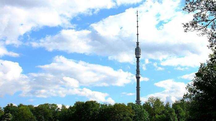 Телевизионная башня в Останкино