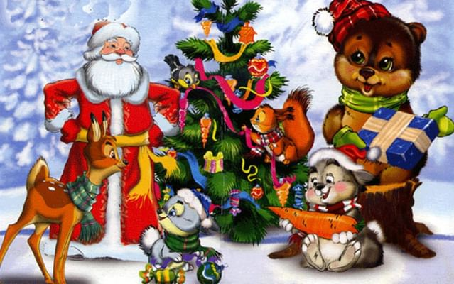 Сценарий новогодней сказки для детей 3-4 лет
