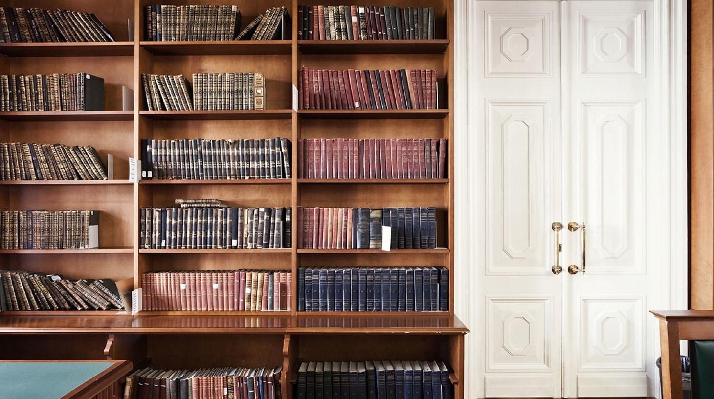 Дома с историей и книгами