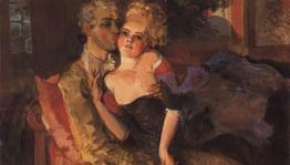 Любовь в картинах русских художников